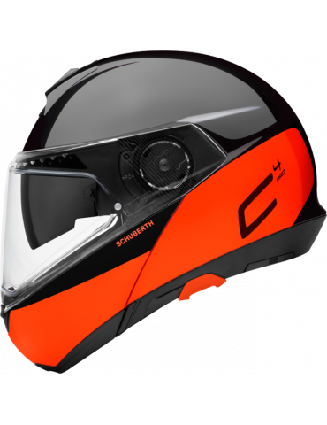 Schuberth C4 Pro Swipe Orange