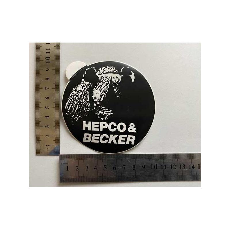 Hepco Becker nálepka velka