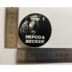 Hepco Becker nálepka mala