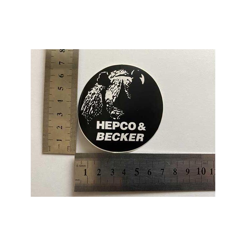 Hepco Becker наклейка маленькая