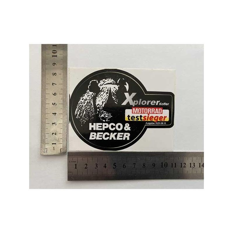 Hepco Becker Xplorer наклейка