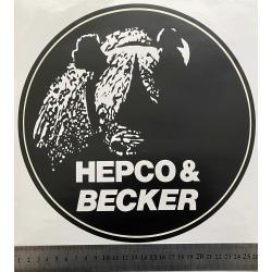 Hepco Becker Aufkleber max