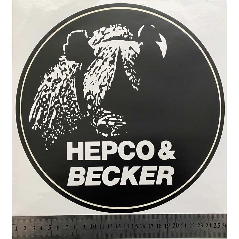 Hepco Becker nálepka max