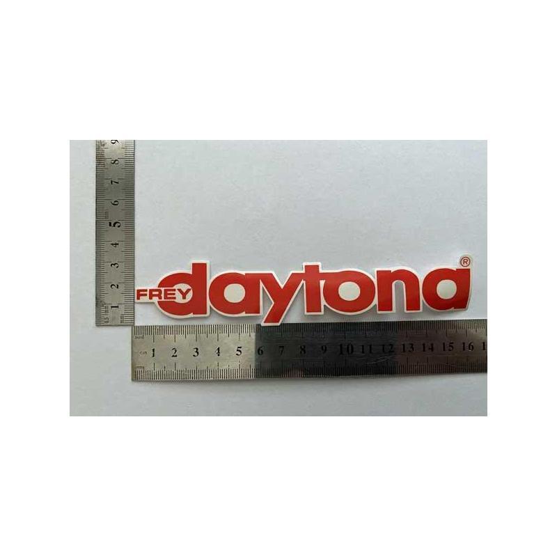 Daytona наклейка красная