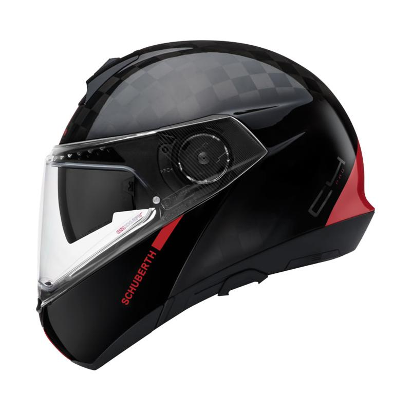 Schuberth C4 Pro Carbon Fusion red