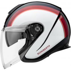 Schuberth M1 Pro Outline Red