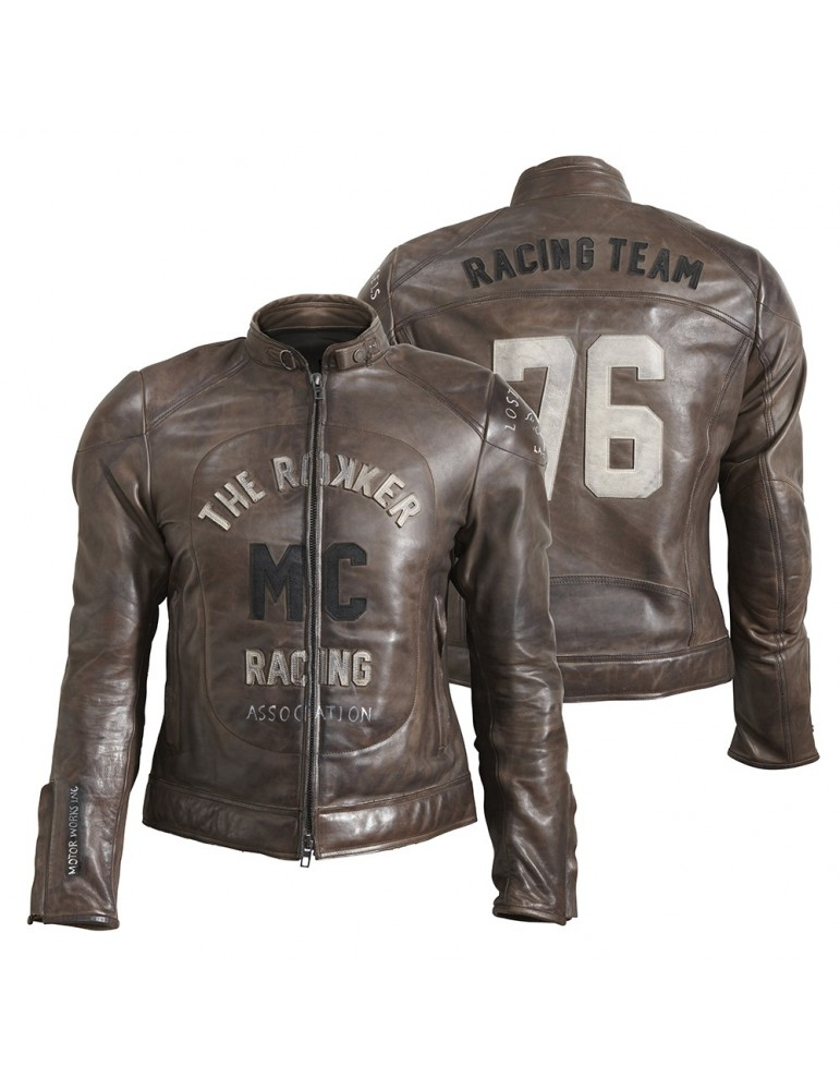 Rokker MC Leather Jacket