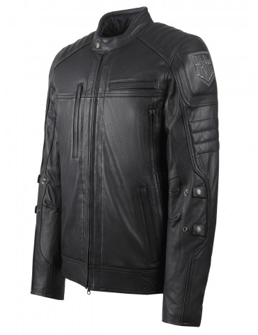 John Doe Technical Leather Jacket with Kevlar