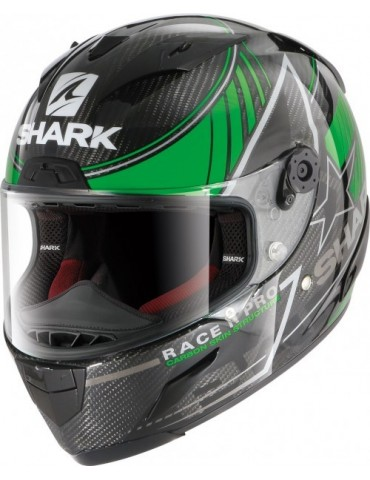 Shark RACE-R PRO CARBON KOLOV green