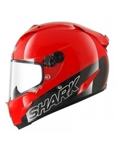 Shark RACE-R PRO CARBON BLANK red