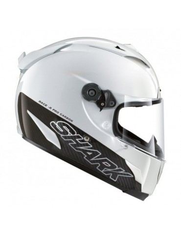 Shark RACE-R PRO CARBON BLANK white