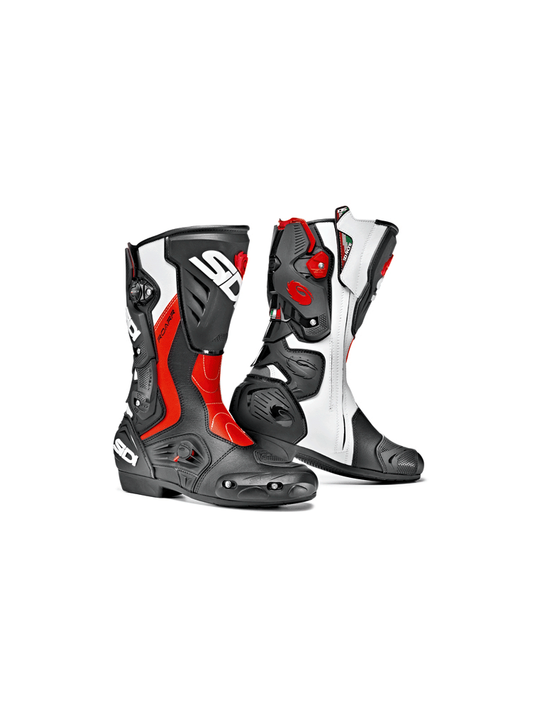 Sidi Roarr Black Red Fluo White
