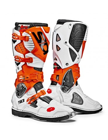 Sidi Crossfire 3 White Orange Black