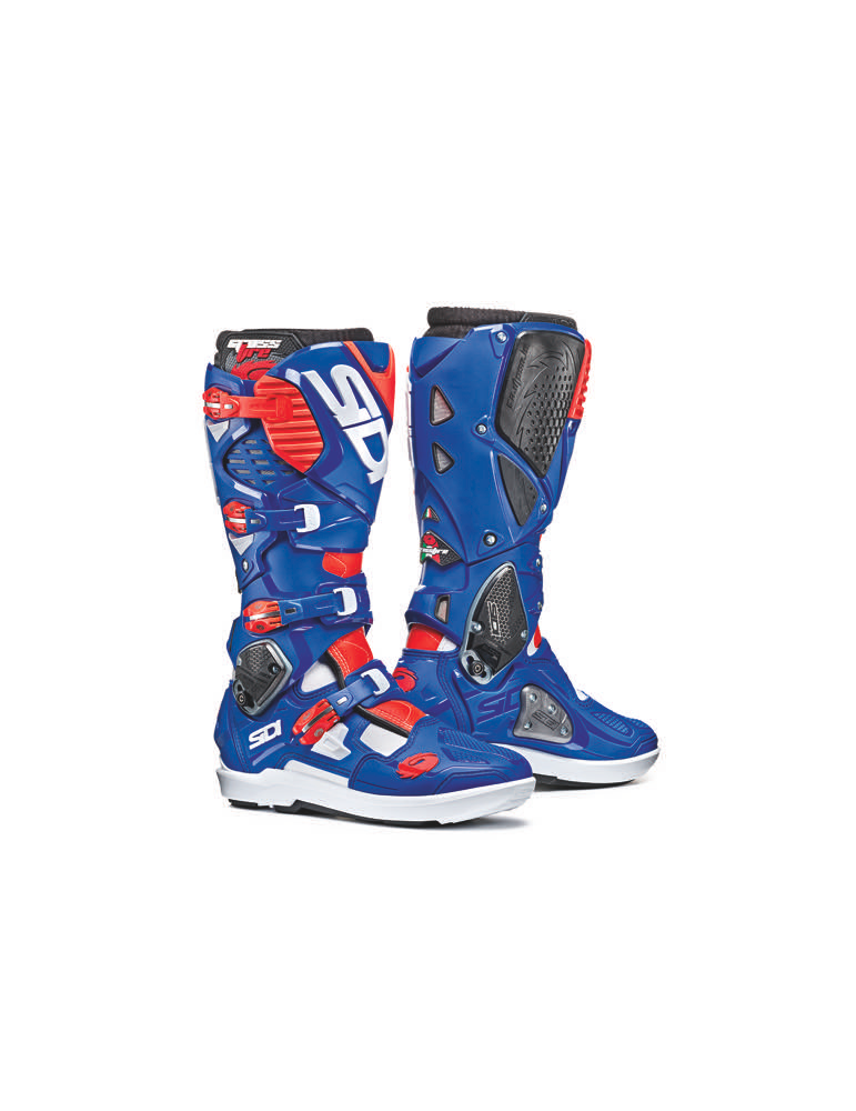 Sidi Crossfire 3 SRS White Blue Red