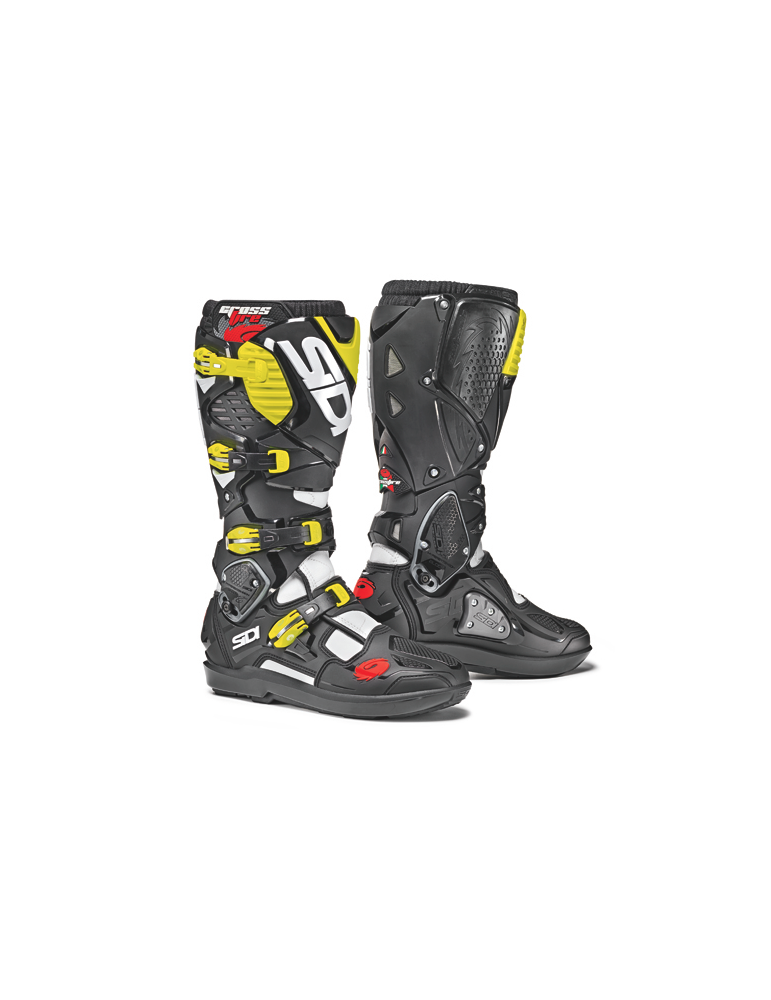 Sidi Crossfire 3 SRS White Black Yellow