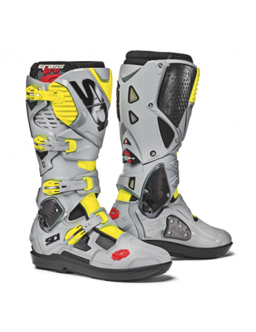 Sidi Crossfire 3 SRS Black Ash Yellow