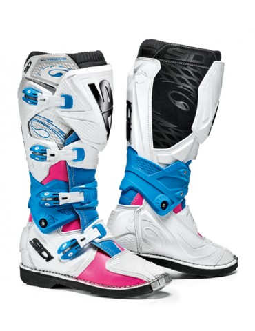 Sidi X-3 Lei Pink White Light blue