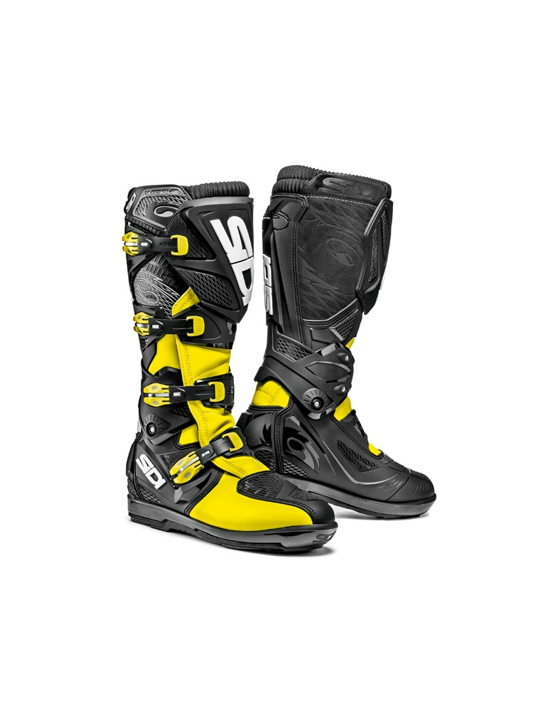 Sidi X-Treme SRS Yellow Fluo Black
