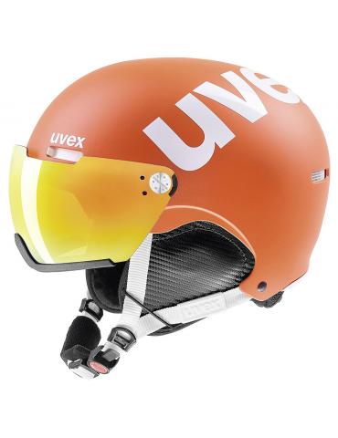 Uvex hlmt 500 Visor orange