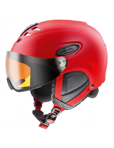 Uvex hlmt 300 visor red